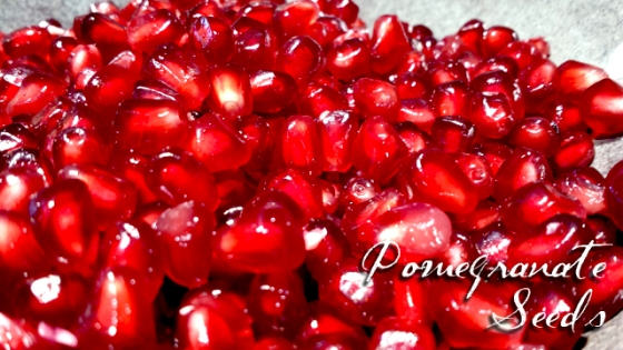 pomegranate seeds, red pomegranate, seeds, fruit