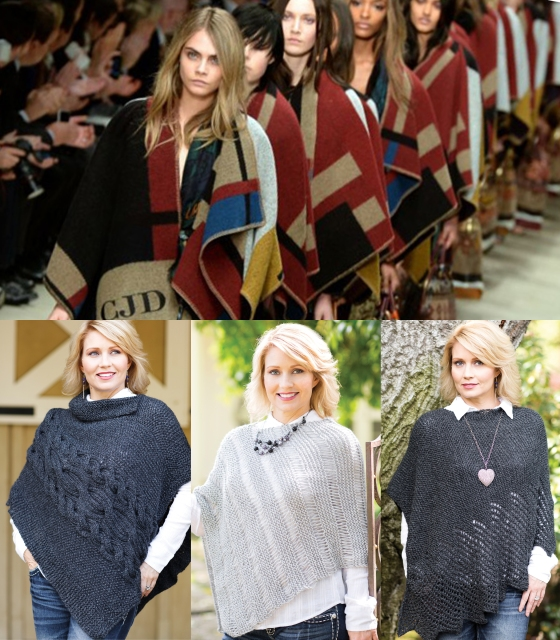 Burberry poncho, Our Hands For Hope ponchos, handmade, alpaca